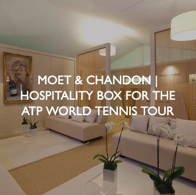 Product marketing for Moet & Chandon ATP World Tennis Tour.