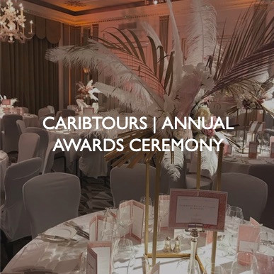 Caribtours Annual Awards Ceremony, event dressing by Friedrich Events.