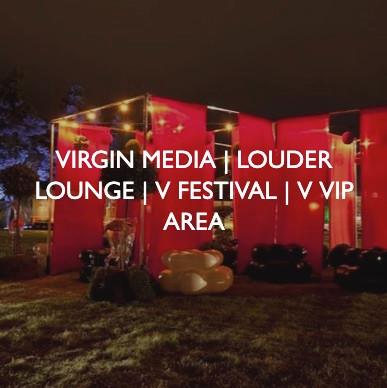 Virgin Media V Festival, designed by Friedrich Events.