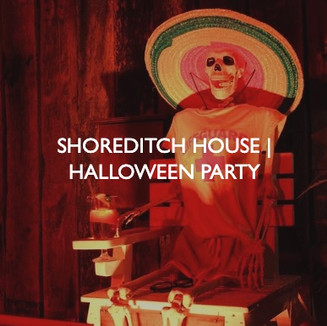 Shoreditch House Halloween Party, event dressing by Friedrich Events.