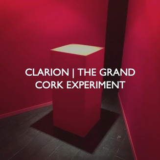 Product marketing for Clarion, The Grand Cork Experiment Event.