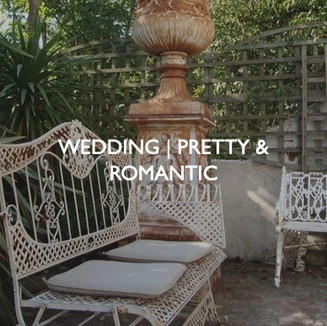 Weddings that are pretty and romantic, styling by Friedrich Events.