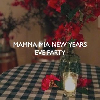 Mammy Mia New Years Eve Party, styling by Friedrich Events.
