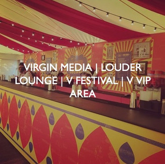 Virgin Media V Festival, designed by Friedrich Events.