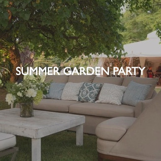 Summer Garden Party, styling by Friedrich Events.