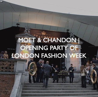 Moet & Chandon event, event dressing by Friedrich Events.
