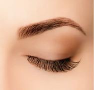 permanent eyebrows via an eyebrow tattoo