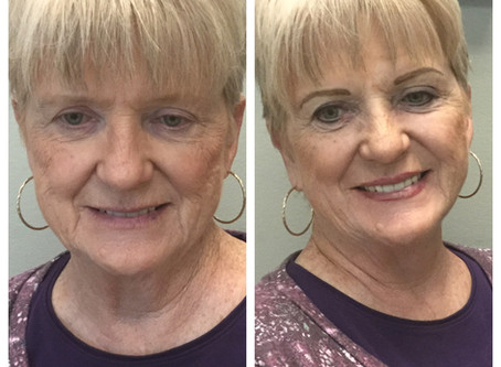 Can I just gush!  Such an amazing transformation with Permanent Eyeliner