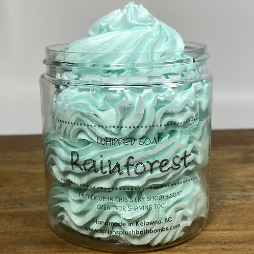 Whipped Soap - Rainforest