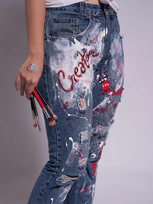 The Artist's Jeans