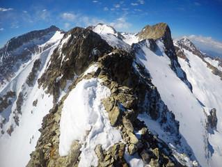 Pico Rabadá (3049 m) y Tusse de Remuñe (3041 m) con esquís