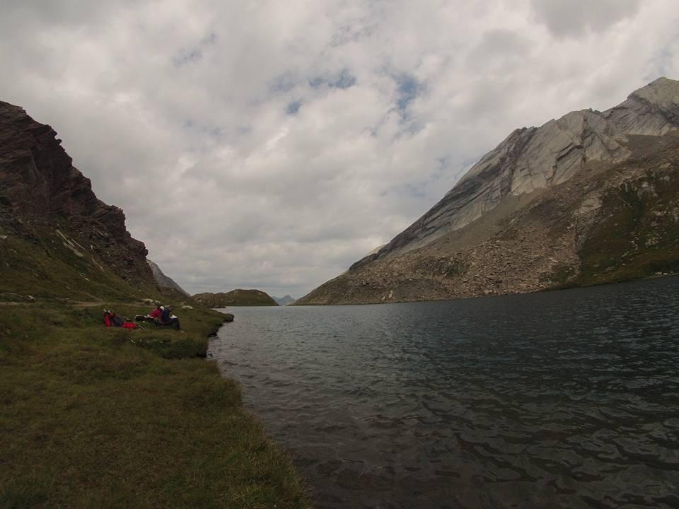 lac foréant cresta Taillante Queras Alpes
