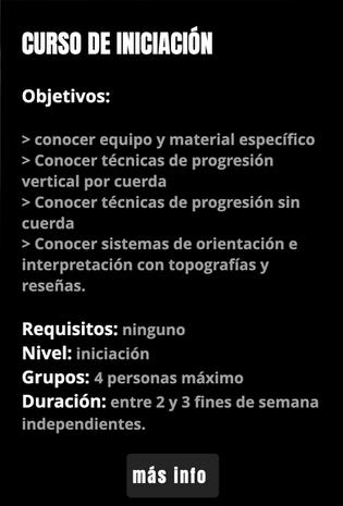 INICIACIÓN ESPELEOLOGIA