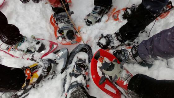 trekkings raquetas de nieve
