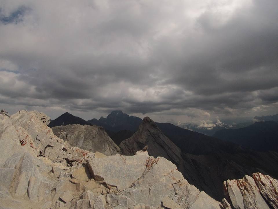 Mon Viso des del Pain de Sucre Alpes