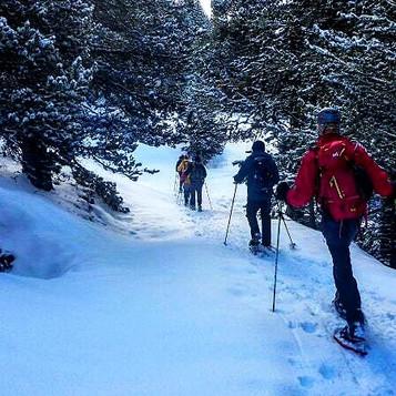 curso excursionismo invernal