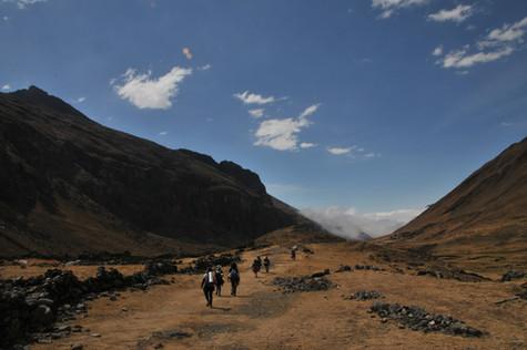 Travesía en Bolivía