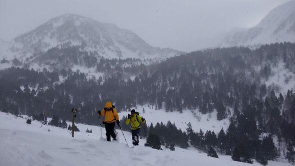 raquetas de nieve cataluña