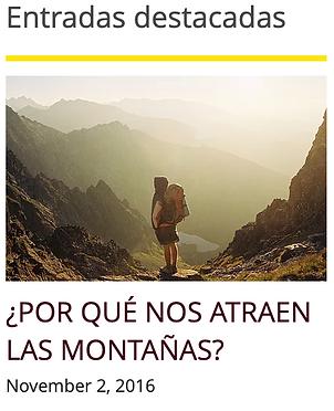 Historia de la atraccoión por las montañas