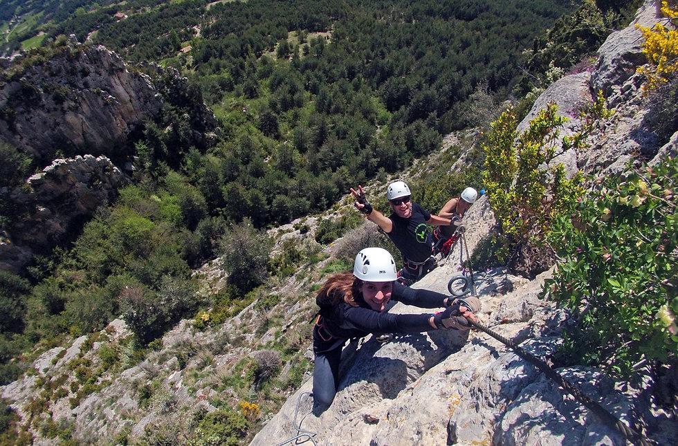 vias ferratas cataluña vallcebre abisme