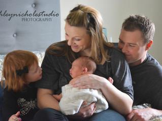 Sorensen Family Sesssion | Newborn | Lifestyle Photos