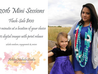 Limited Time | Flash Sale | Mini Sessions