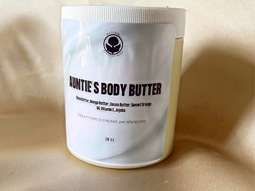 Auntie's Body Butter Large