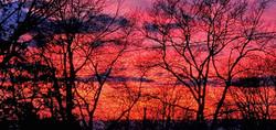 January Chesapeake Sunset