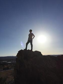 Lookout at M Hill, South Dakota