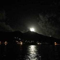 Moonlight over Antigua