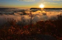 Dawn at Pike's Peak, Iowa