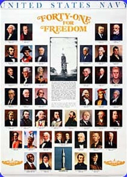 The men of 41 for freedom