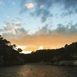 Sunset in Menorca