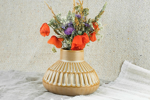 """Vase """"Atu"""" Steingut"""