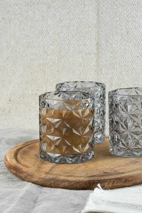 """Trinkglas """"Vinta"""" Grau"""