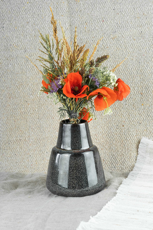 "Vase ""Berna"" Steingut"