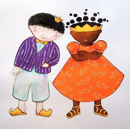 Prins Mimoen en prinses Arabella