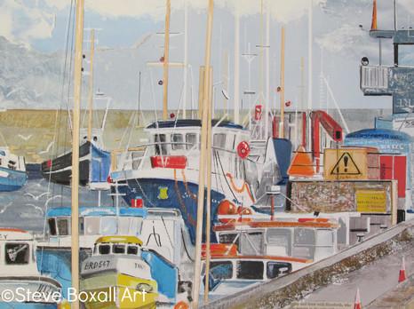 The Harbour at Bridlington