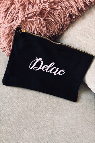 Personalised cosmetic bag MEDIUM