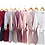 Thumbnail: Plain Lola lace sleeve robe ★