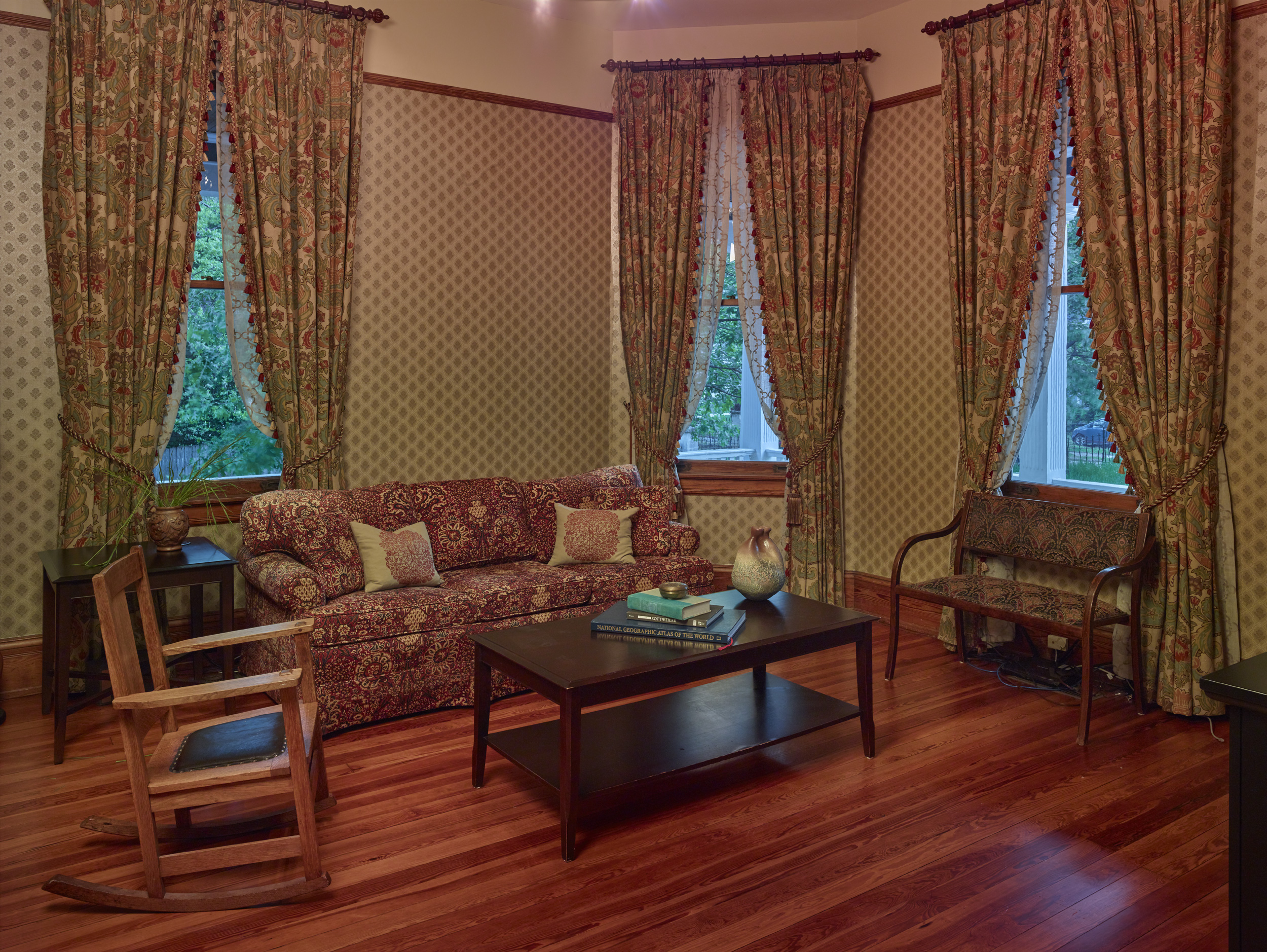 Den and family room