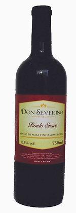 Vinho Tinto Suave Bordô - Don Severino