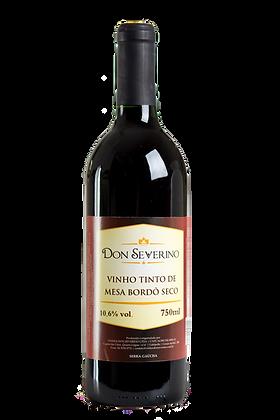 Vinho Tinto Seco Bordô - Don Severino