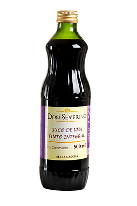 Suco de uva Tinto 500ml - Don Severino