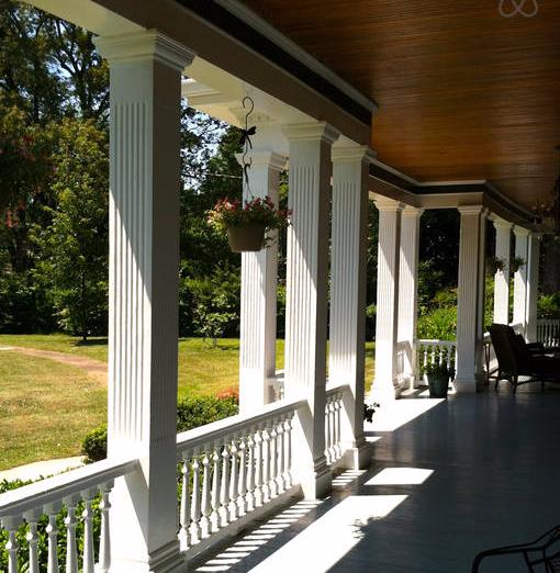 Front wrap-around porch