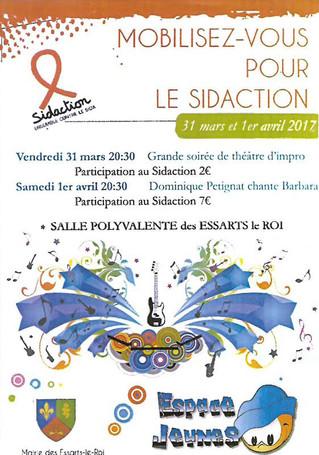 Dominique Petignat chante Barbara - Essarts le Roi (Yvelines) le 1er avril 2017