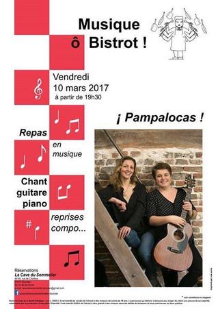 """Le 10 mars: Soirée """"Musique Ô Bistrot"""" à la Cave du Sommelier à Dourdan"""