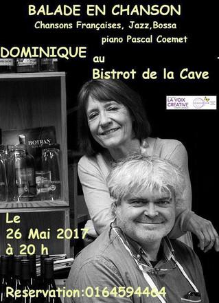 La passion du chant et la gastronomieserontau rendez-vous à la Cave du Sommelier