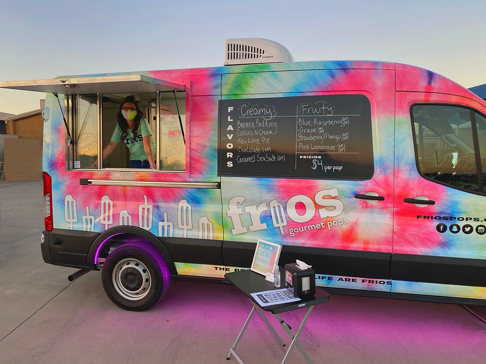 Frios Gourmet Pops Frios Mobile Franchise