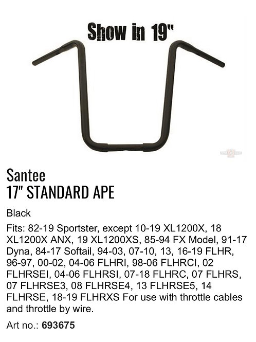 "Santee 1 1/4"" Apes"